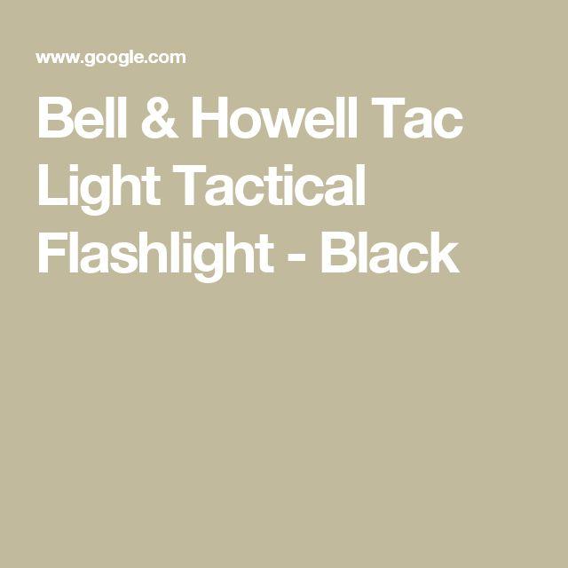 Bell & Howell Tac Light Tactical Flashlight - Black