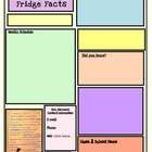This is the template I use for my weekly classroom newsletters.  Yours for FREE, and it's editable! ...
