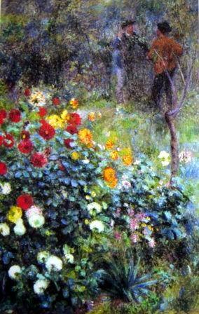 Garden in the Rue Cortot - Renoir