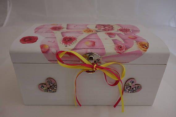 Love treasure chest box
