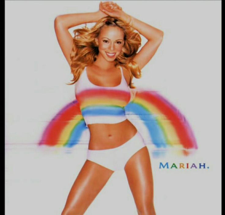 Mariah Carey Rainbow Wallpaper