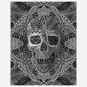 Lace Skull Print 11x14 now featured on Fab.