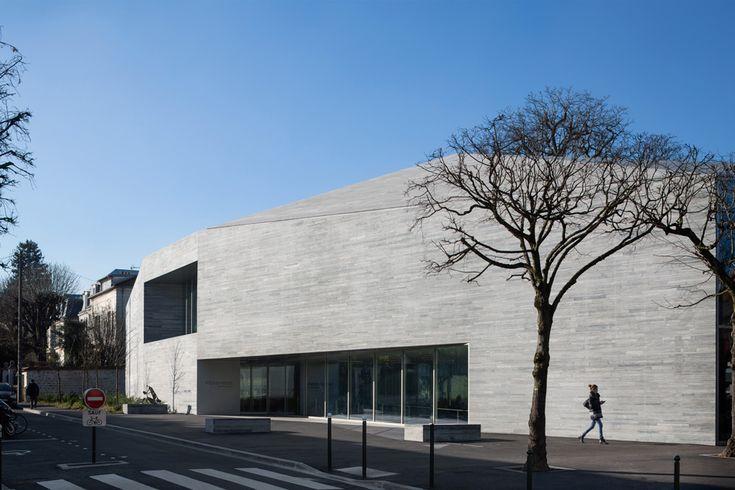 pascale guedot architecte mediatheque media library in bourg-la-reine designboomg7