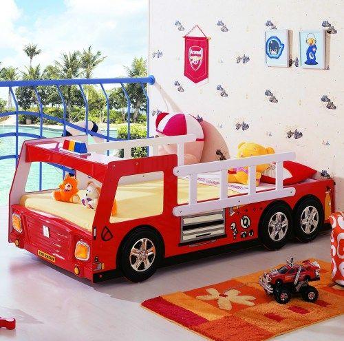 Кровать-машина Milli Willi Пожарная машина | купить в БЭБИ ПЛАЗА