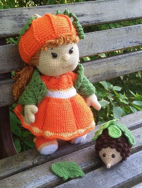 93 besten Puppen häkeln Bilder auf Pinterest | Gehäkelte spielsachen ...