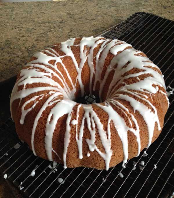 Sour Cream Bundt Cake With Cake Mix
