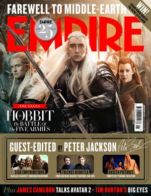 First Look At Empire's The Hobbit: The Battle Of The Five Armies Covers | Movie News | Empire