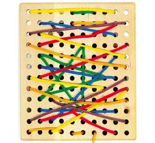 Πίνακας με κορδόνια/ Threading board