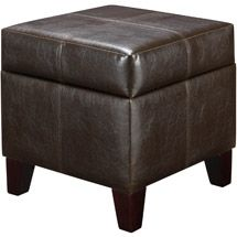 Walmart: Small Storage Ottoman, Multiple Colors