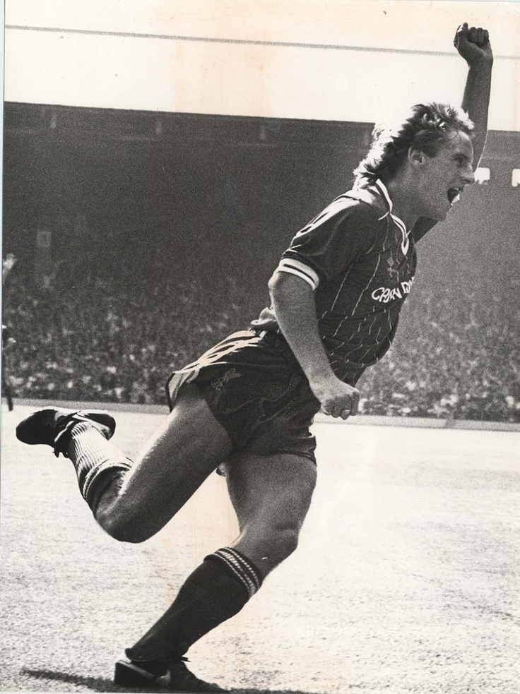 My first LFC game v West Ham, August 1984 - Paul Walsh scores after 14 seconds
