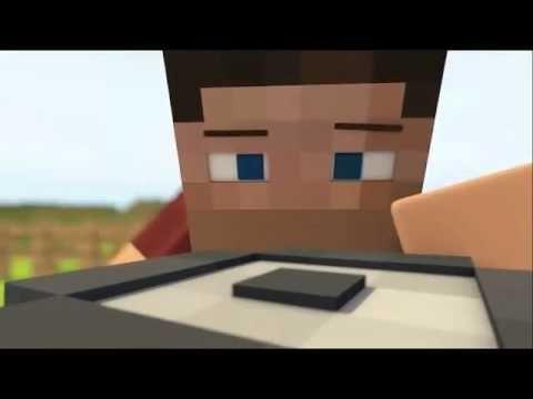 Animacion de Minecraft- El coche de steve - YouTube