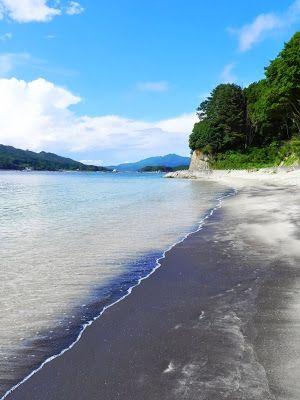 Beautiful sea of Sanriku. Ocean