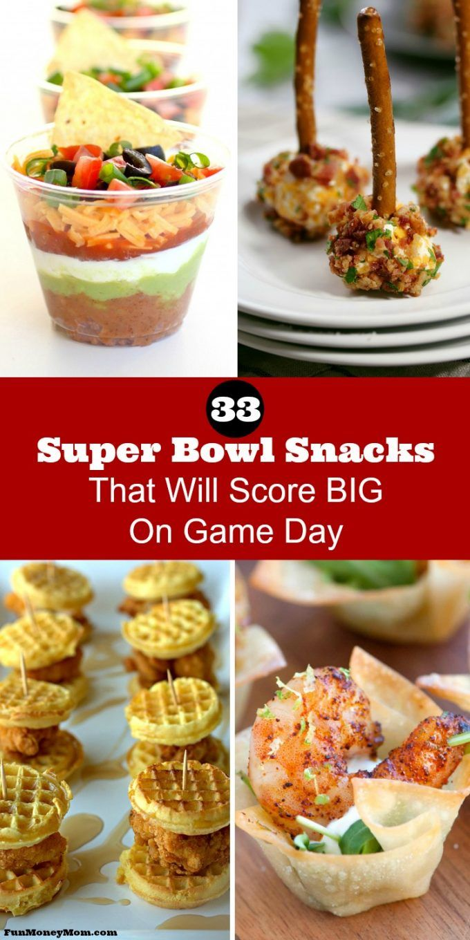 Super Bowl snacks are a must for any gameday party! These yummy appetizers make the perfect football food. You'd better make plenty...these gameday snacks will disappear fast!
