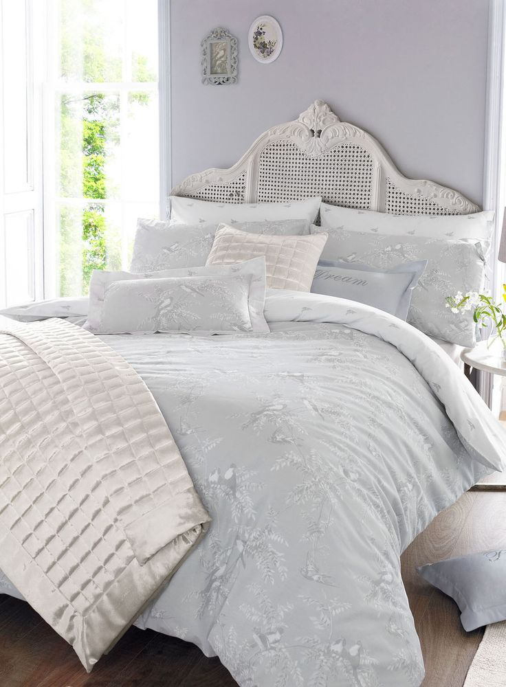 Bhs Exclusive Holly Willoughby Grey Fauna Bed Linen Range From 15 White Bedrooms