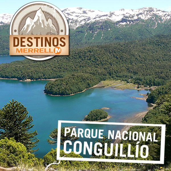 #DestinoMerrell #Parque #Conguillio #Chile #Hermoso