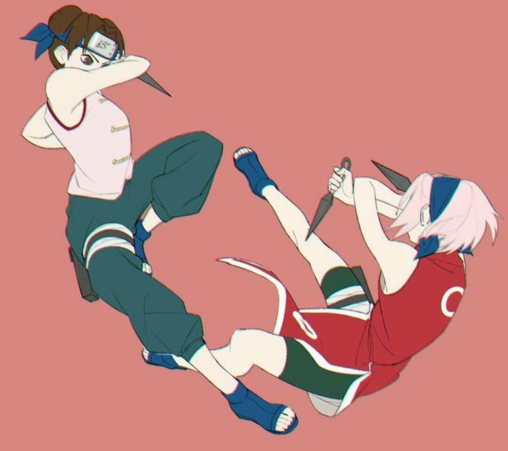 Tenten vs Sakura