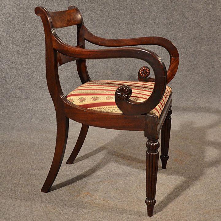 Bottom chair rush red