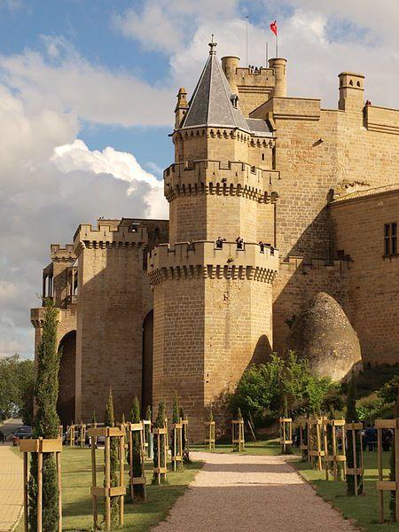 Castillo de Olite, Spain                                                                                                                                                      Más