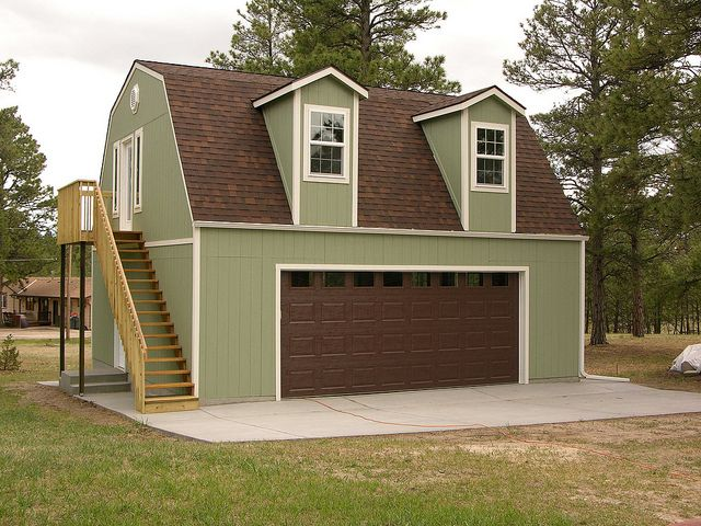 Premier barn garage by tuff shed storage buildings for Tuff sheds