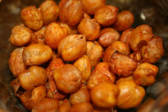 Roasted garbanzo beans and Beans on Pinterest