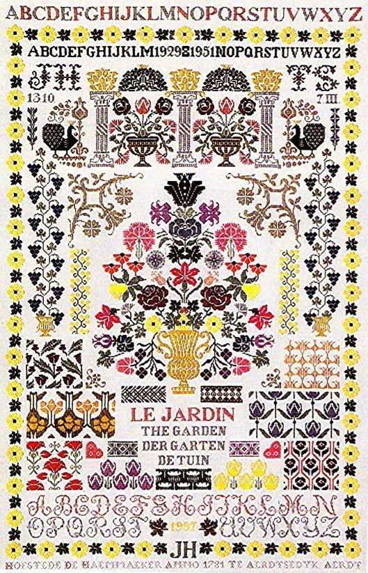 Garden Sampler - Jan Houtman - $20