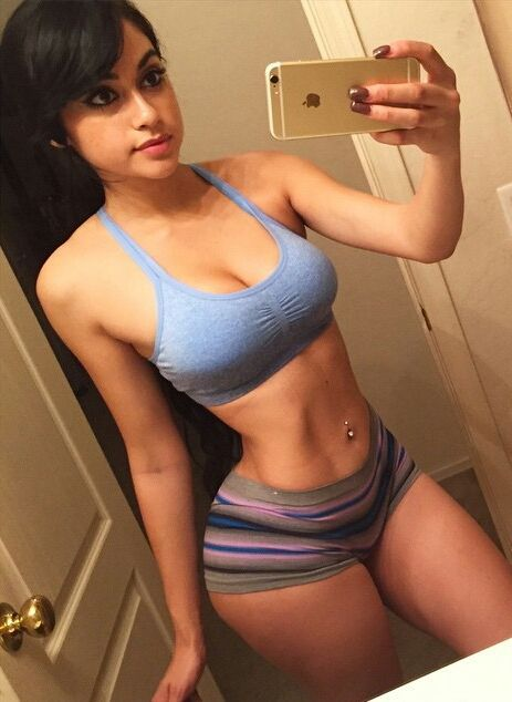 Young bitch is proud of being ass fit
