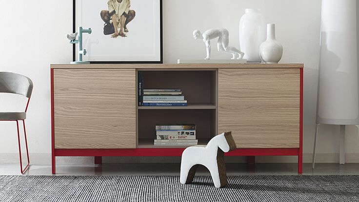 #Factory 3 Door Sideboard By #Calligaris #livingfurniture See More At  Albertopavanello.