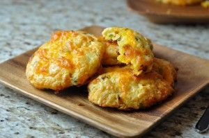Cornmeal Cheddar Chipotle Biscuits | Savory Bits | Pinterest