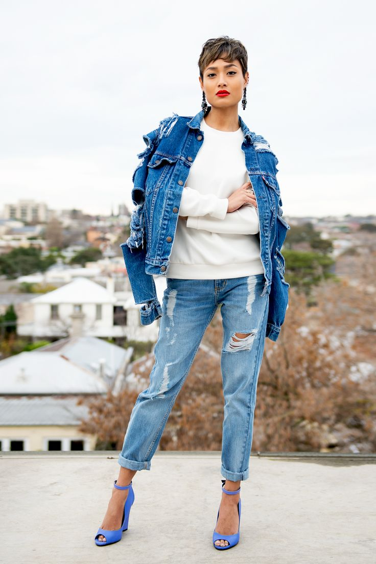 How to Wear the Double Denim Trend