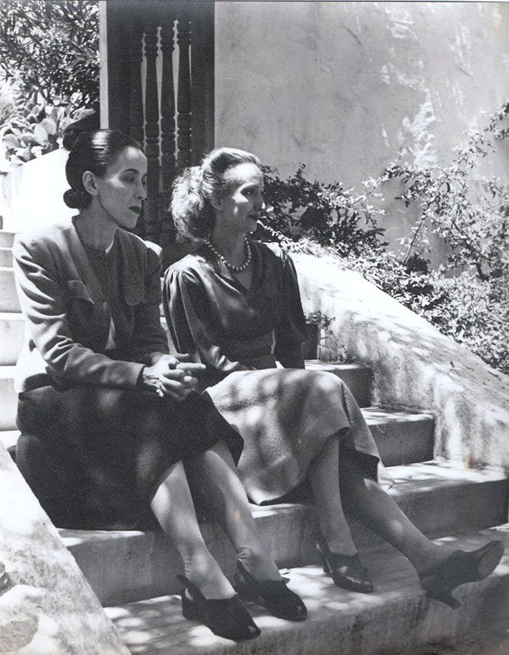 Mothers of Modern Dance:   Martha Graham and Doris Humphrey at Mills College, Oakland, California, 1939