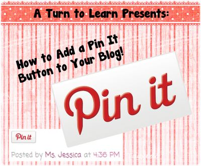how to add a 'Pin It' button to your blog post