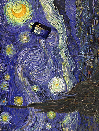 Van Gogh and Dr Who. One of my favorite episodes! I cried at the end!