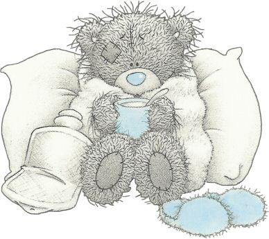 Tatty Bear enfermo