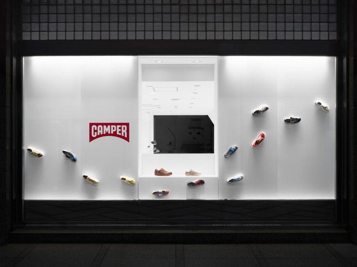 nendo: camper store in osaka, japan - designboom | architecture & design magazine