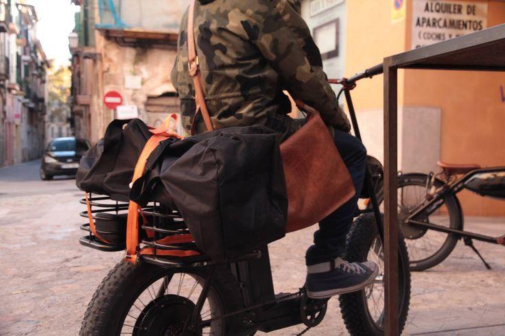 The MOKE, our new cargo vehicle #ebike #cargobike #bike