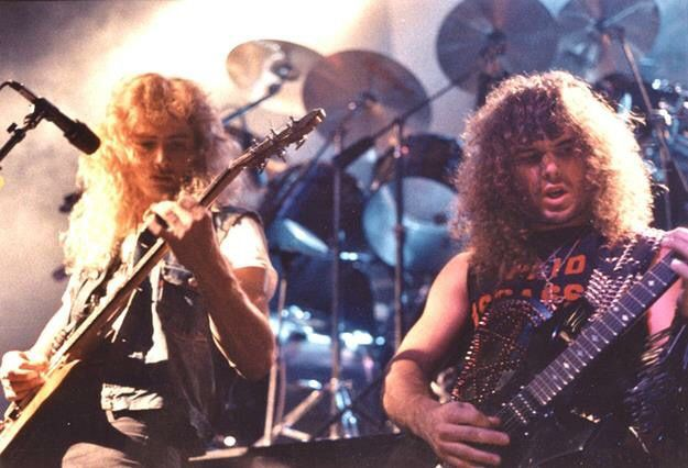 Dave Mustaine/Kerry King early Megadeth