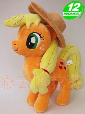 Фильмы и ТВ 32 см Эплджек лошадь игрушки около 12 дюймов игрушки подарок на день рождения w854