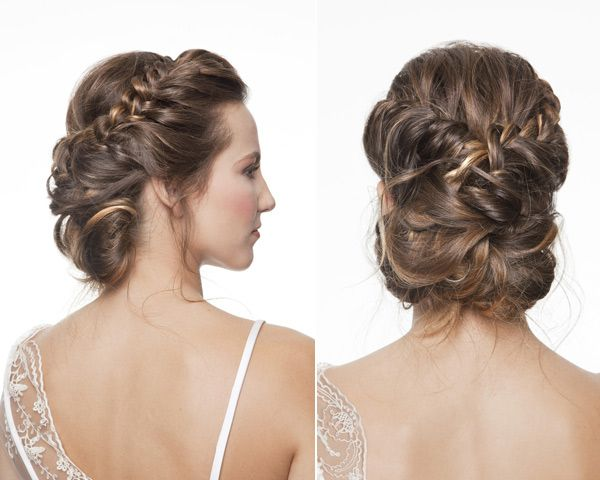 Las tendencias en peinados para novias para 2014 boda - Peinados modernos para boda ...