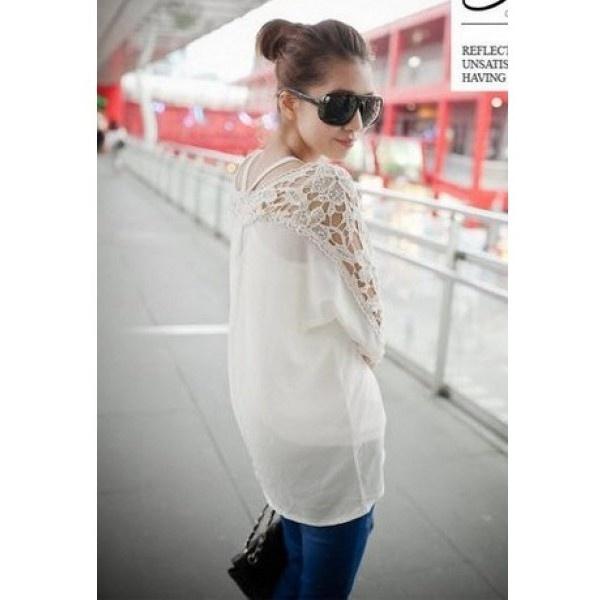 Korean style, Chiffon and Lace on Pinterest