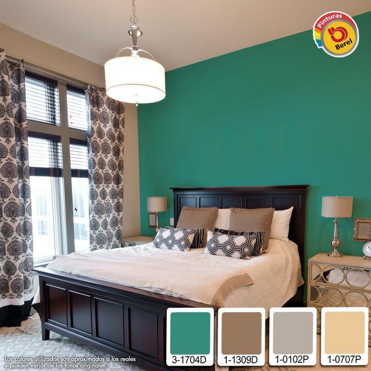Combinaci n de colores serenos y relajantes para todas for Paleta de colores de pintura para interiores