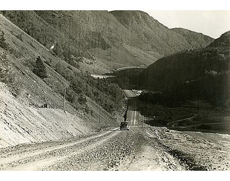 Happy Throwback Thursday ~ In 1932 the Cabot Trail scenic drive officially opened which brought more tourist traffic to the area. Although a motor route was developed, it was still very dangerous roads that were rocky, twisty and often impassable by car.