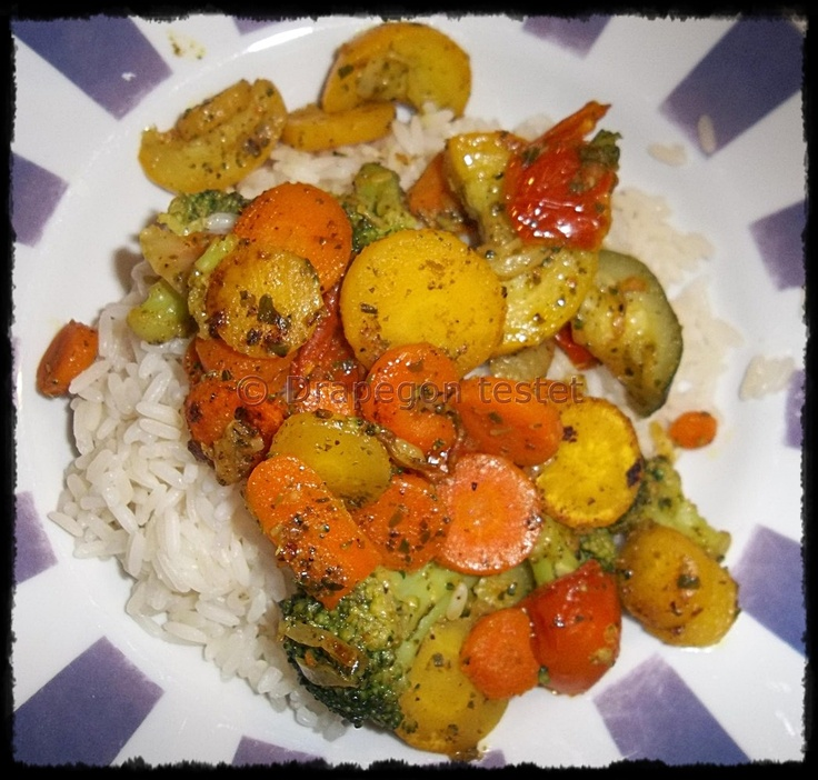 Frosta Toskana Gemüse mit Reis