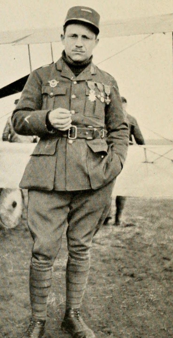 French American ace Raoul Lufberry.