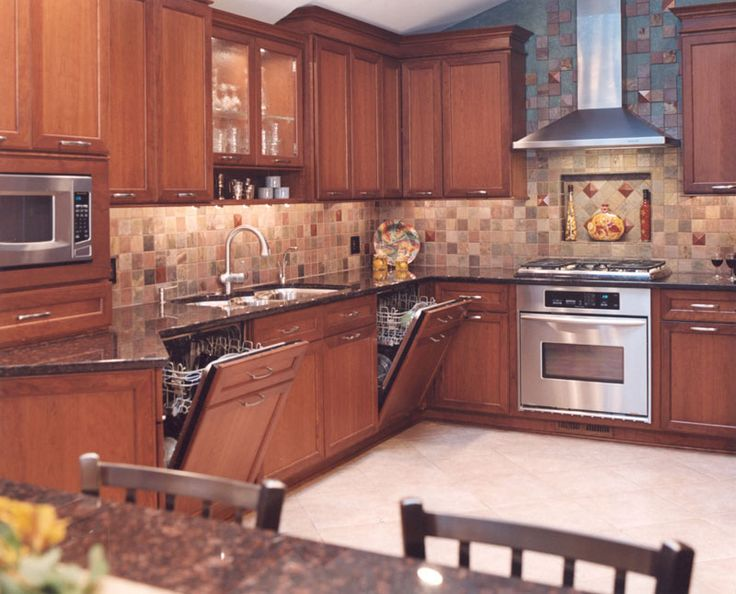 Kosher Kitchen Design With Two Dishwashers Skokie Il