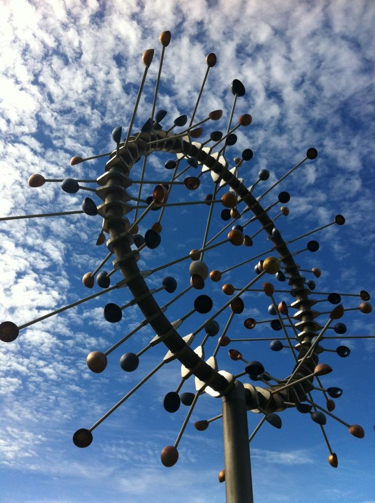 Cool wind sculpture