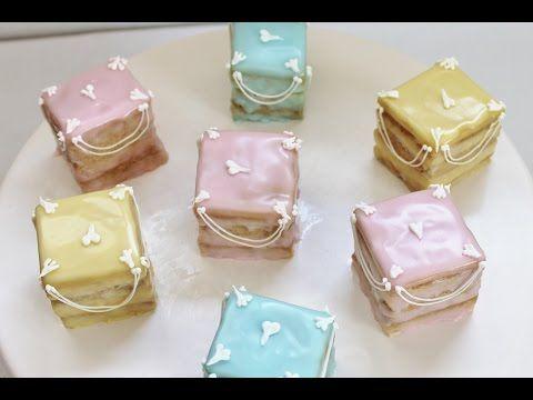 Frühlingshafte Petit Fours backen | Sweet & Easy - Enie backt - YouTube