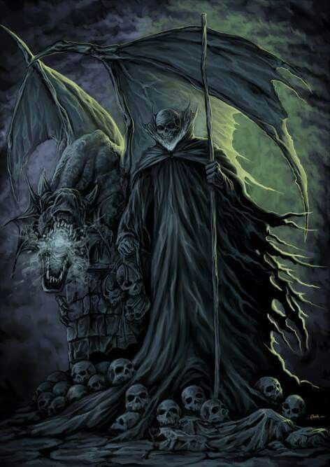 Awesome | Don't Fear The Reaper! in 2019 | Fantasy concept ...