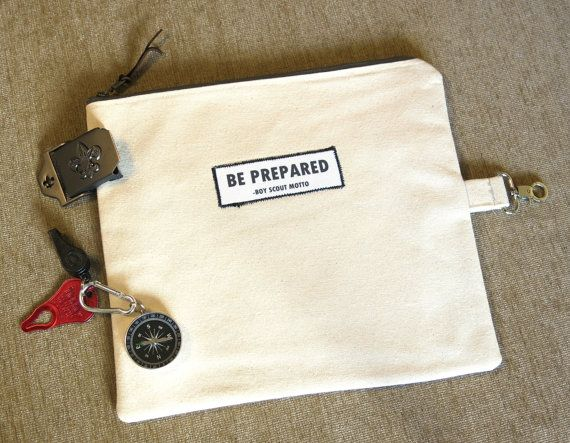 Boy Scout Camp Bag/ Cub Scout Gift / Leader by AreYouTherePaper