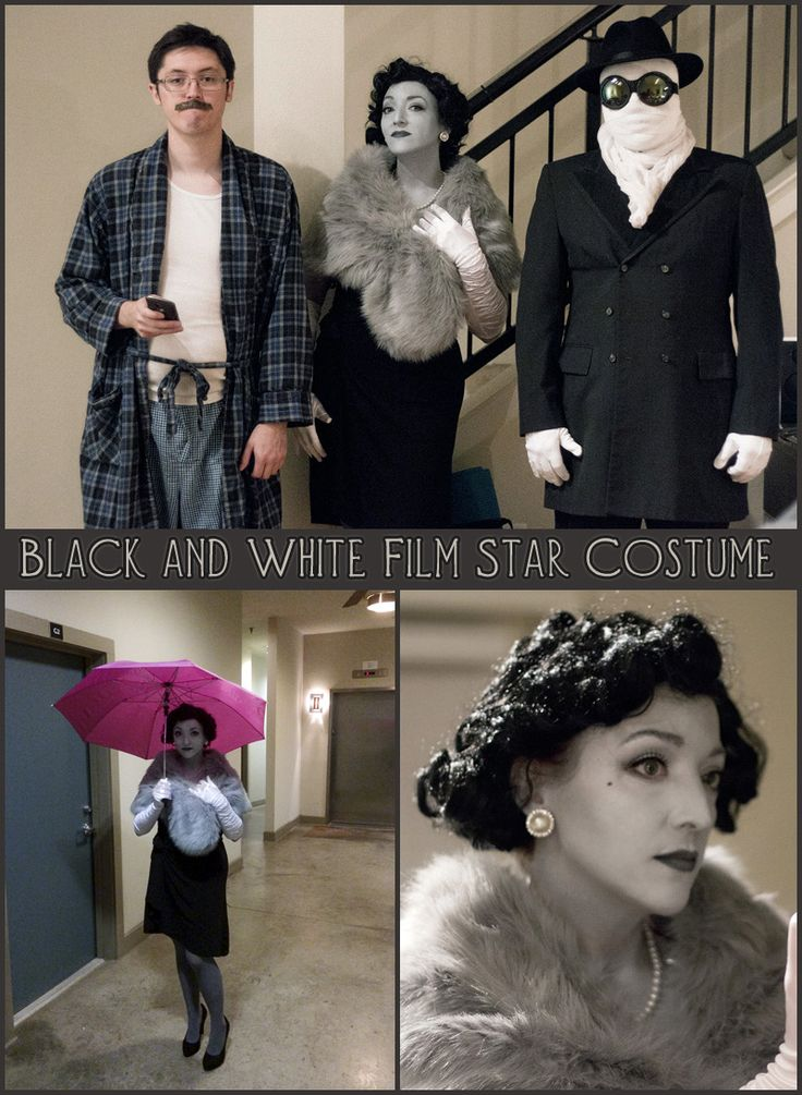 Black and White Costume