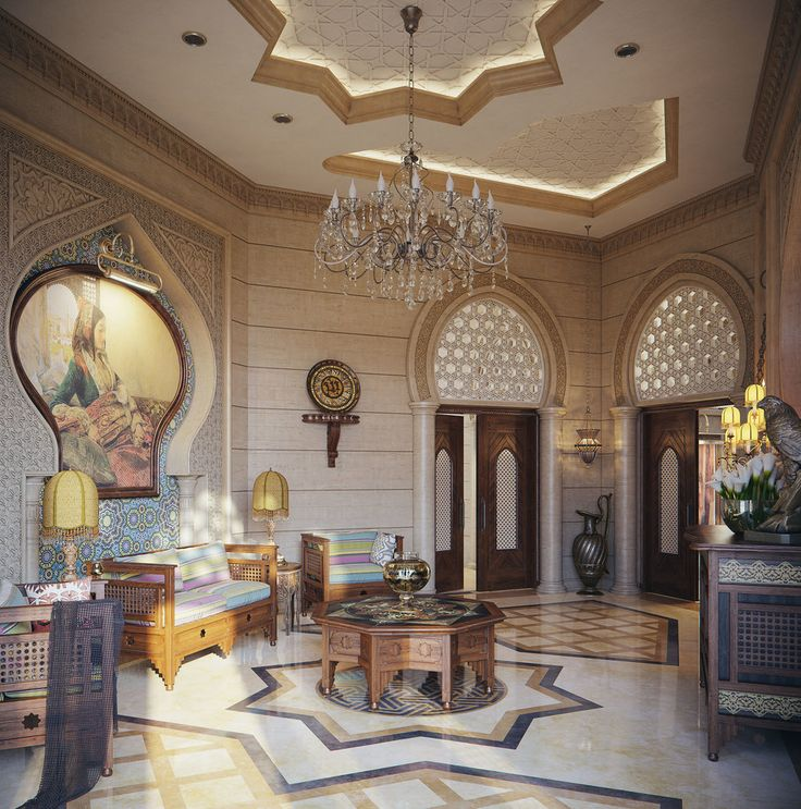 Dreamy Spaces Rendered By Muhammad Taher: Pin By Seba Alskif On Moroccan&oriental Style In 2019